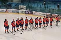Druholigoví hodonínští hokejisté porazili v přípravě Velké Meziříčí 4:3.