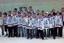 Výběrový tým SHKm Hodonín 97 select skončil na prestižním mezinárodním hokejovém turnaji LEKOV CUP 2011 třetí.