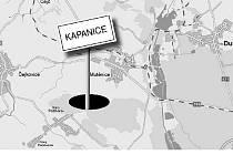 KDE? Kapanice ležely podle dochovaných informací mezi Mutěnicemi a Dolními Bojanovicemi.