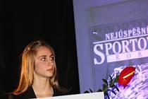 Šestnáctiletá házenkářka Jana Šustková se stala Hvězdou Hodonínského deníku.