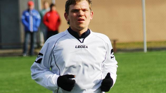 Hodonínský útočník Marek Ondryáš se proti Novosedlům střelecky neprosadil. Divizní tým i tak nad Novosedly vyhrál 3:0.