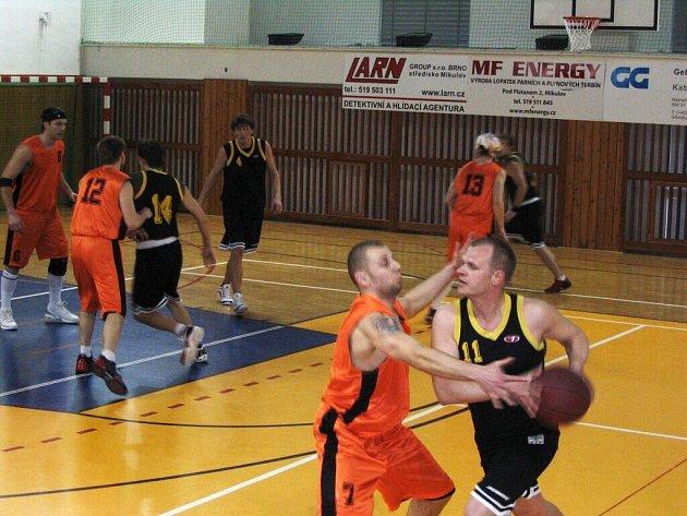 Basketbalisté z Hodonína táhnou Břeclav za úspěchem