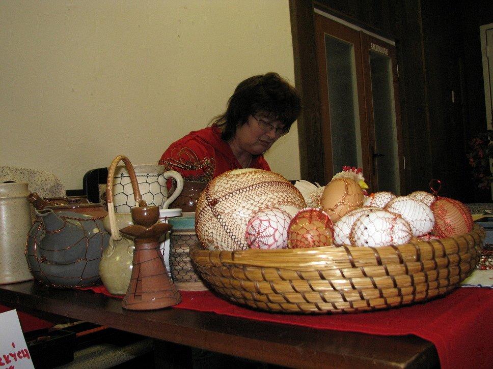 Předváděčka lidových umělců ve Veselí nad Moravou