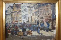 V ýstava Sbírka Augusta Švagrovského v hodonínské Galerii výtvarného umění.