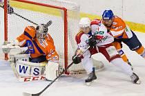 Hodonínský brankář Petr Zavadil inkasoval v Porubě pět branek. Drtiči na ledě jednoho z favoritů východní skupiny druhé ligy prohráli 1:5.