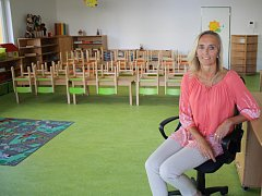 V poslední prázdninový den se mohli rodiče a děti podívat do nové mateřské školky v Uhřicích.