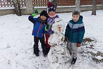 V mateřské škole v Lužici vědí, jak udělat dětem radost. FOTO: Archiv školy