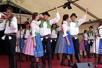 Tanečníci ze strážnického folklorního souboru Demižón měli tu čest, že mohli zahájit mezinárodní festival v Německu.