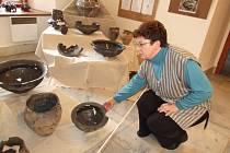 Výstava archeologických nálezů