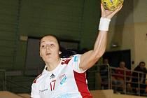 Mladá slovenská křídelnice Katarína Hvosťáľová se po čtyřměsíční pauze vrátila zpět do sestavy Veselí nad Moravou.