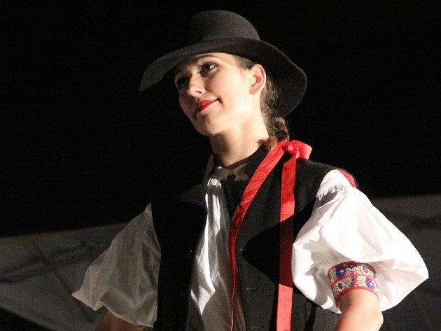 Svoji kariéru se souborem Ondráš spojila také Lucie Tomášková z Mutěnic.
