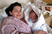 První miminko roku 2013 v kyjovské porodnici se narodilo Barboře Režné z Dubňan.