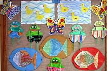 Svou výstavu mají v radniční galerie děti základní a mateřské školy.