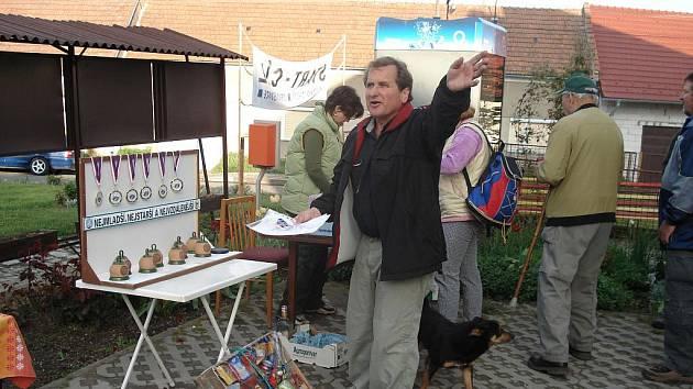 Organizátor turistických akcí Miroslav Vaculík