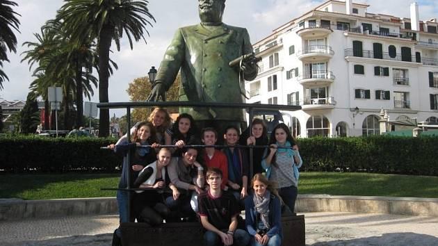 Studenti Purkyňova gymnázia ve Strážnici navštívili v listopadu kolegy z Portugalska.