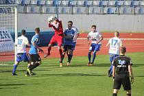 Fotbalisté Znojma doma remizovali s Ústím nad Labem.