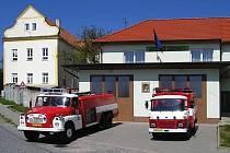 Žeravičtí hasiči si sami předělali hospodu na hasičskou zbrojnici.