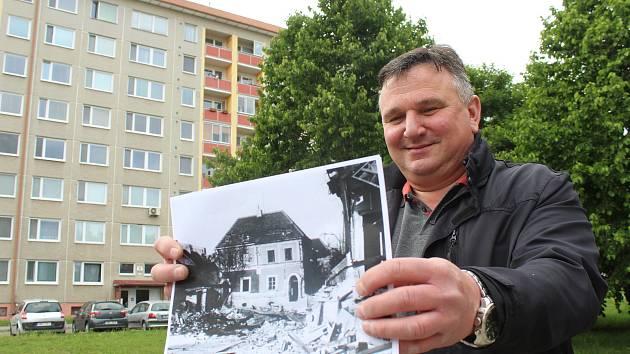 Petr Nedvídek musel ve čtrnácti opustit původní domov, na jehož místě později vzniklo sídliště Jihovýchod.