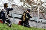 Jubilejní desátý ročník Svatomartinských slavností ve Bzenci. V sobotu byla na programu tradiční přehlídka armád tří císařů.