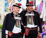 Hejtman Jihomoravského kraje se u příležitosti Slováckého roku v Kyjově oblékl do kyjovského kroje.
