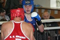Oblastní liga boxu ve Svatobořicích 28. listopadu 2009