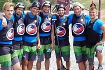 Úspěšní členové slováckého oddílu získali na horské řece Dora Baltea medaile ve slalomu, sjezdu i oblíbené disciplíně head to head.