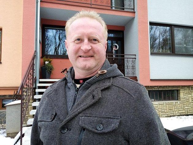Marek Mišík, 47let, servisní technik výtahů