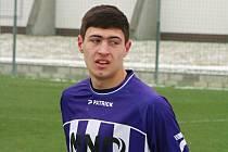 Hodonínským fotbalistům k výhře nad třetiligovou rezervou Zlína nepomohla ani trefa ukrajinského útočníka Pavla Dovhanyuka.