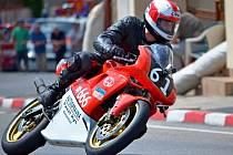 Kyjovský jezdec Lukáš Bělič skončil v Hořicích na Česká Tourist Trophy 2013 v kategorii do 350 ccm druhý.