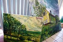 V Blatnici pod Svatým Antonínkem se uskutečnilo první malířské sympozium.