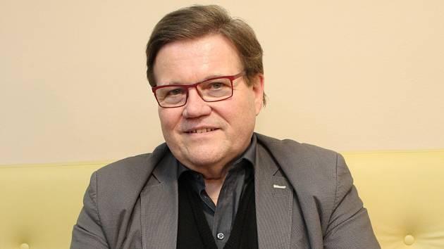 Zdeněk Škromach v Hodoníně v březnu 2018.