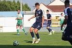 Poti Bzenci nastoupil v dresu Slovácka s číslem 17 Marek Polášek, rodák z Tasova na Veselsku.