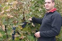 Svíčková na smetaně a k ní Chardonnay ve výběru z hroznů se zbytkovým cukrem. To je nejoblíbenější kombinace vína a jídla dvaatřicetiletého vinaře Petra Kozumplíka z Blatnice pod Svatým Antonínkem.