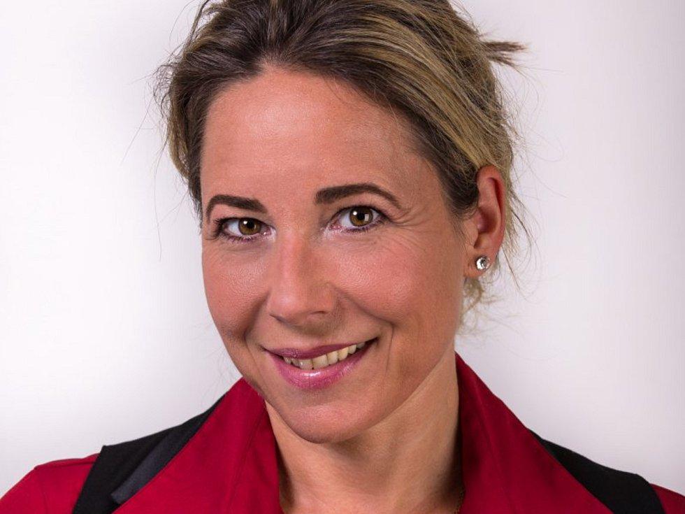 Herečka a hodonínská rodačka Andrea Schönová.
