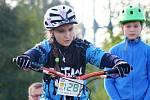 V šestém závodě mistrovství republiky na sebe upozornila také Iva Antlová (na snímku). Šikovná kyjovská jezdkyně získala v domácím prostředí zlato.