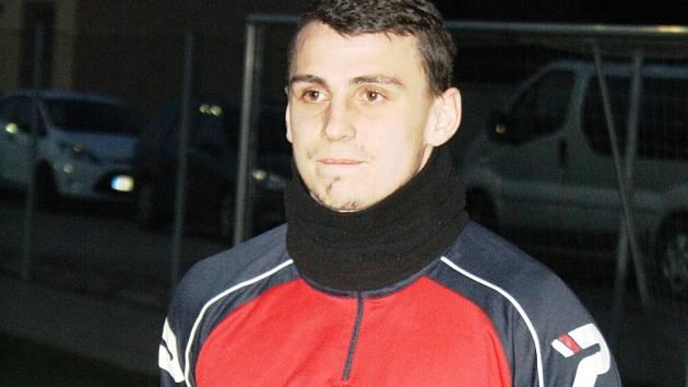 Třiadvacetiletý záložník Radim Kleiber bude na jaře hrát za divizní Hodonín.