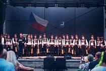 Patronem benefičního koncertu byl Václav Hudeček.