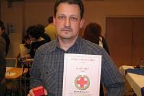 Eduard Kratochvíl chodí darovat krev už od povinné vojenské služby.