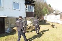 Policisté na Hodonínsku kotrolovali zabezpečení rekreačních objektů.