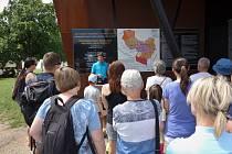 Turisté přijíždějí na Slovanské hradiště v Mikulčicích ročně v desetitisích