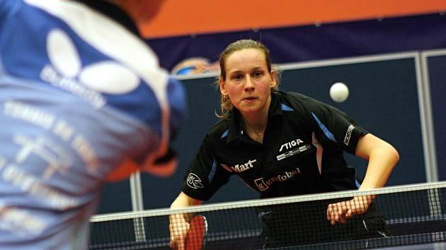 Stolní tenistka Hana Matelová