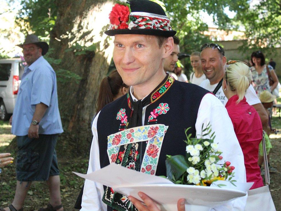 Mezinárodní folklorní festival ve Strážnici 2017, soutěž o krála slováckých verbířů.
