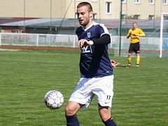Fotbalisté FC Veselí nad Moravou se po postupu do krajského přeboru dočkali první výhry, na které se podílel i obránce Bohumil Vardan.