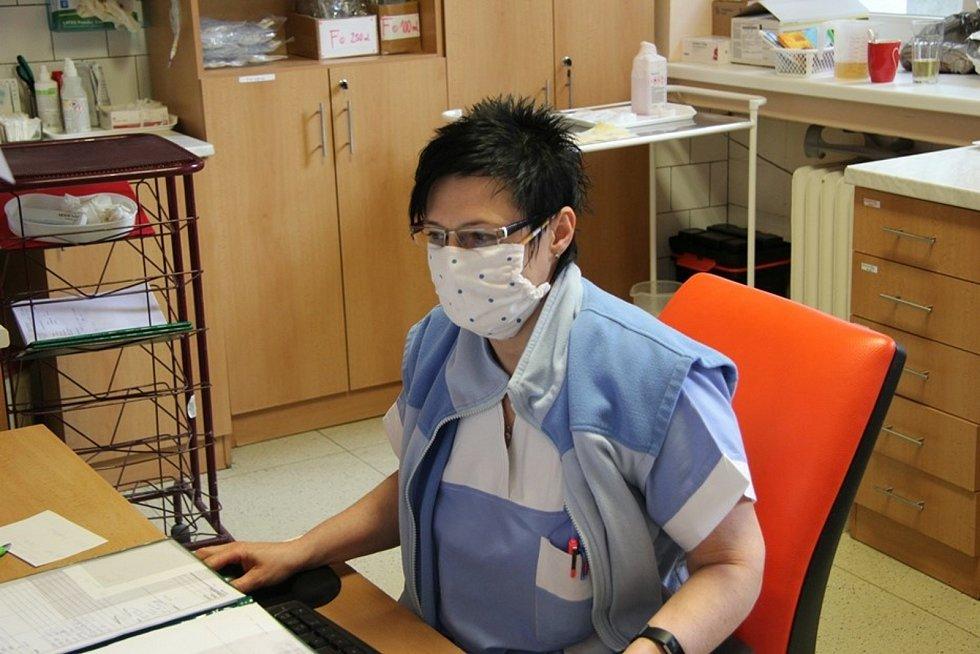 Hodonínská nemocnice.  Ilustrační foto