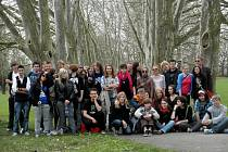Devatenáct studentů z Holandska přijelo do Strážnice na výměnný pobyt.