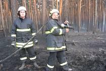 Místostarosta Petrova Ladislav Krůtil zasahoval u největšího požáru lesa za posledních patnáct let u Bzence na Hodonínsku.