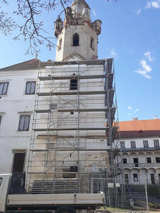 Zámecká věž v Břeclavi.