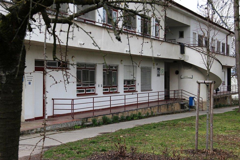 Infekční pavilon kyjovské nemocnice.