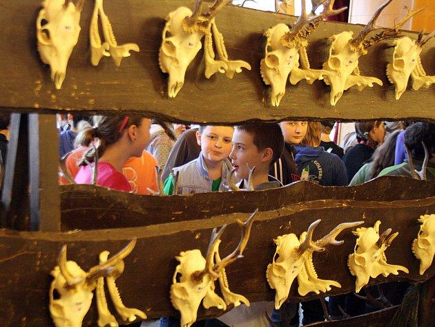 Přehlídka mysliveckých trofejí v Kyjově
