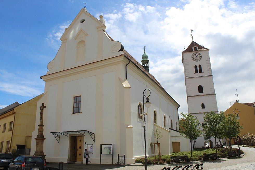 Kostel svatého Martina ve Strážnici.